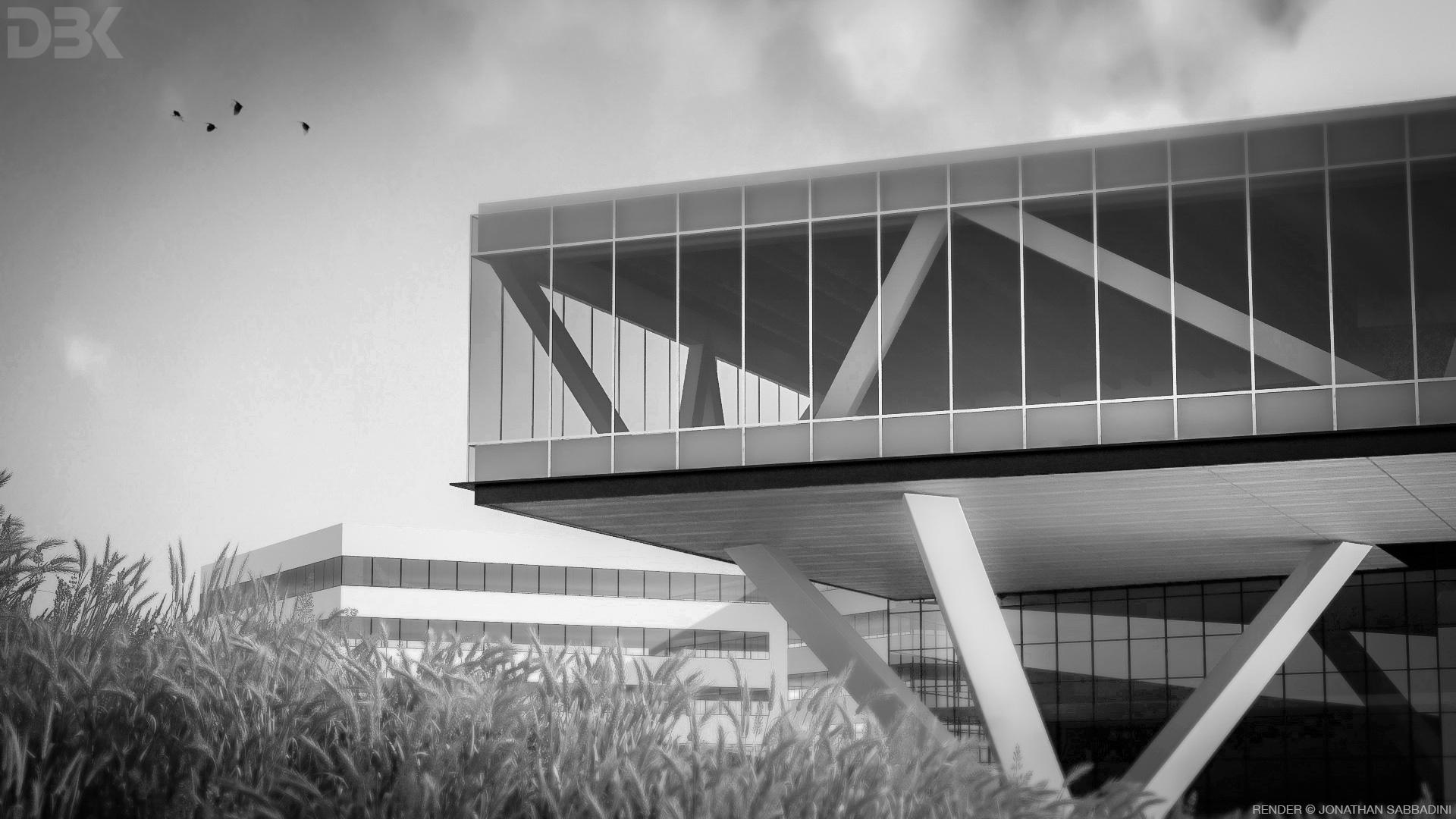 Architettura moderna di ispirazione industriale for L architettura moderna
