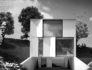 villa in collina sul lago di Lugano - render Jonathan Sabbadini