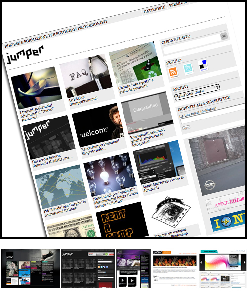 rinnovo sito web e newsletter magazine online