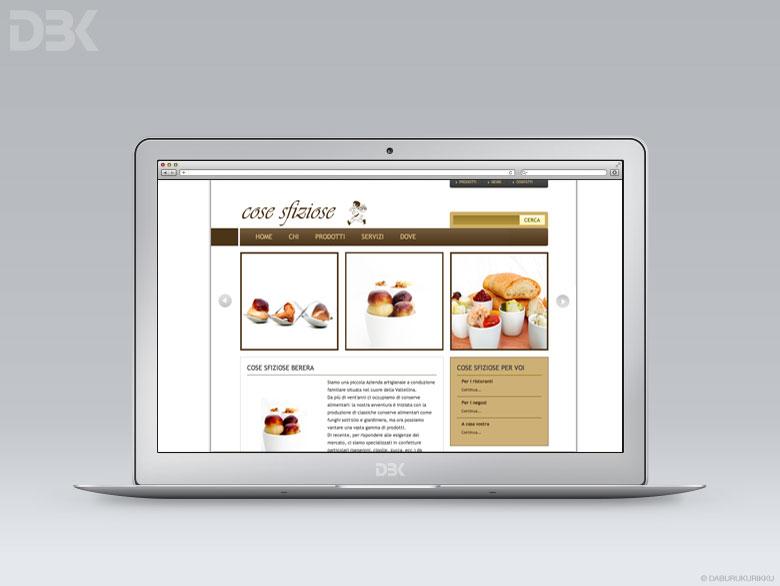 sito web prodotti alimentari italiani Berera