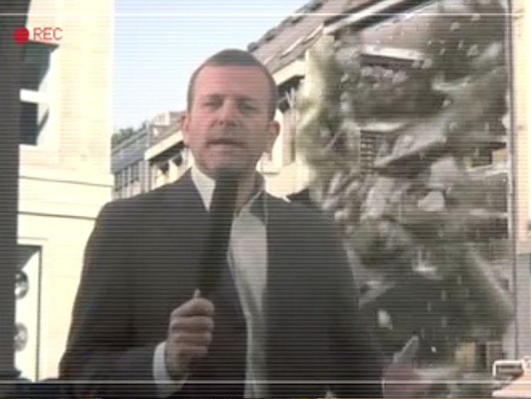 modellazione e animazione crollo edificio 3D per spot video Monn