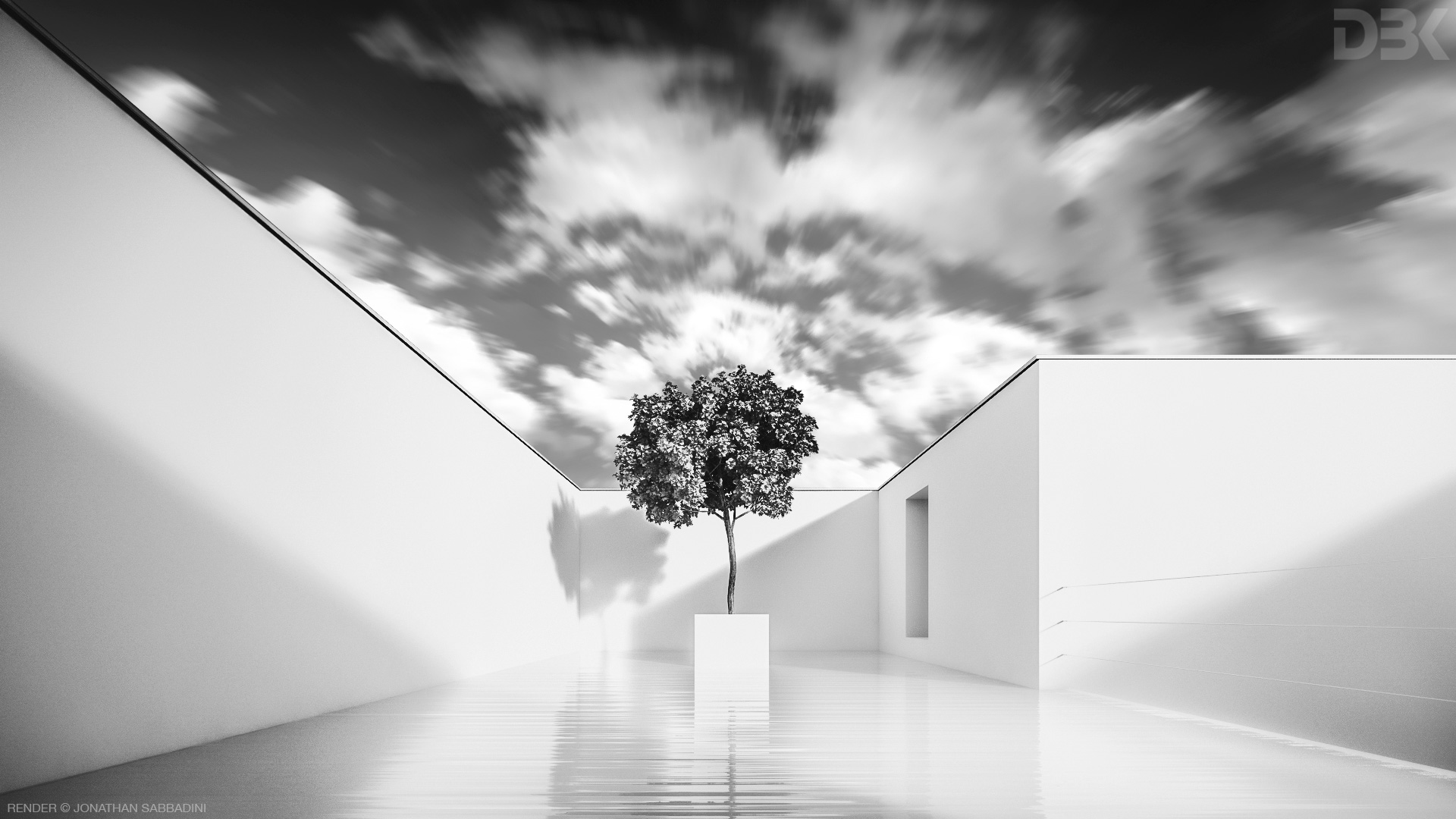 Architettura contemporanea, concept render