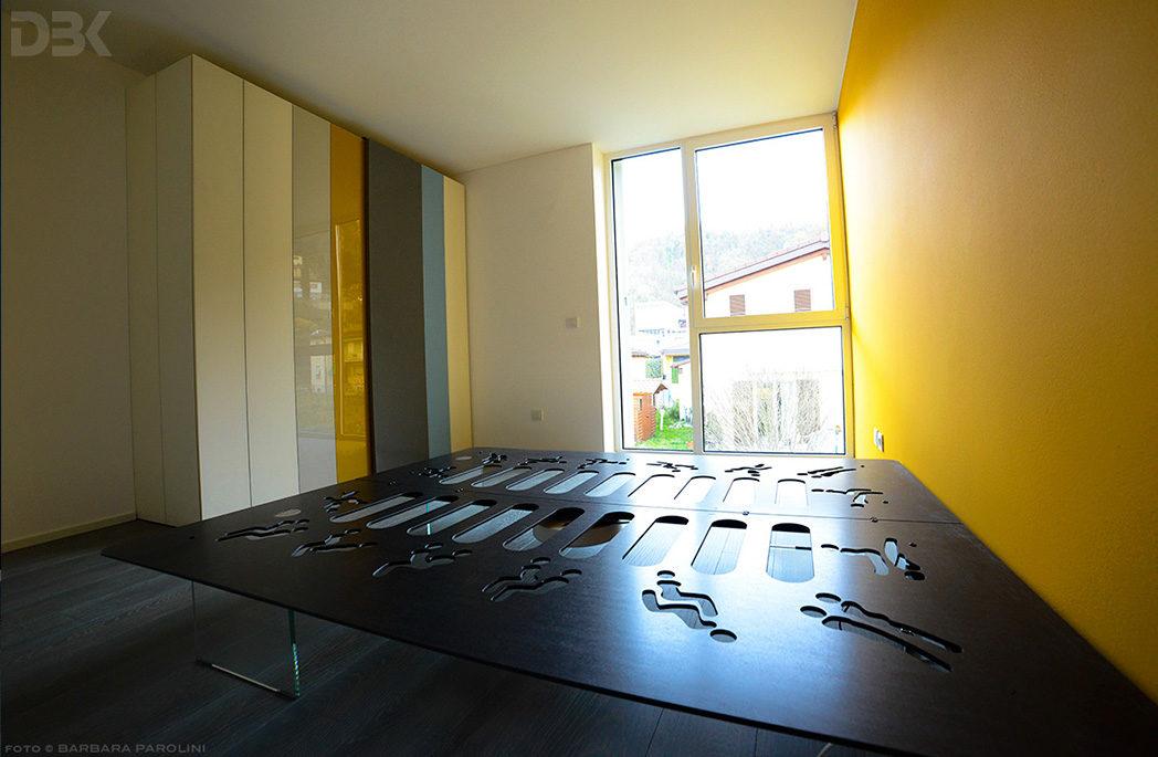 fotografie documentazione lavori arredamento Appartamento Lago Lugano