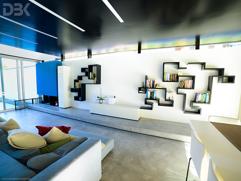 fotografie lavori arredamento Appartamento Lago Lugano